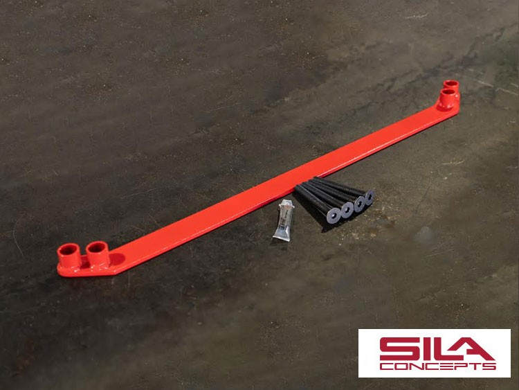 FIAT 500 Lower Subframe Brace - SILA Concepts - ABARTH & All 2018+ 500 Models