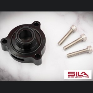 Alfa Romeo Giulia 2.0L Blow Off Adapter Plate - SILA Concepts - Black