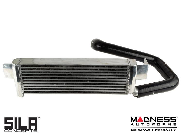 FIAT 500 Intercooler by SILA Concepts - 1.4L Multi Air Turbo - Bar + Plate Design