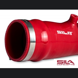 FIAT 124 Factory Air Filter Housing Upgrade Kit - SILA Concepts - Red Silicone - Basic Kit