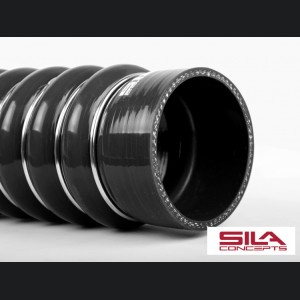 Alfa Romeo 4C Exhaust Manifold Cooling Hose - SILA Concepts - Black