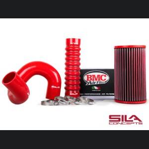 Alfa Romeo 4C Hose/ Filter Upgrade Kit - BMC + SILA