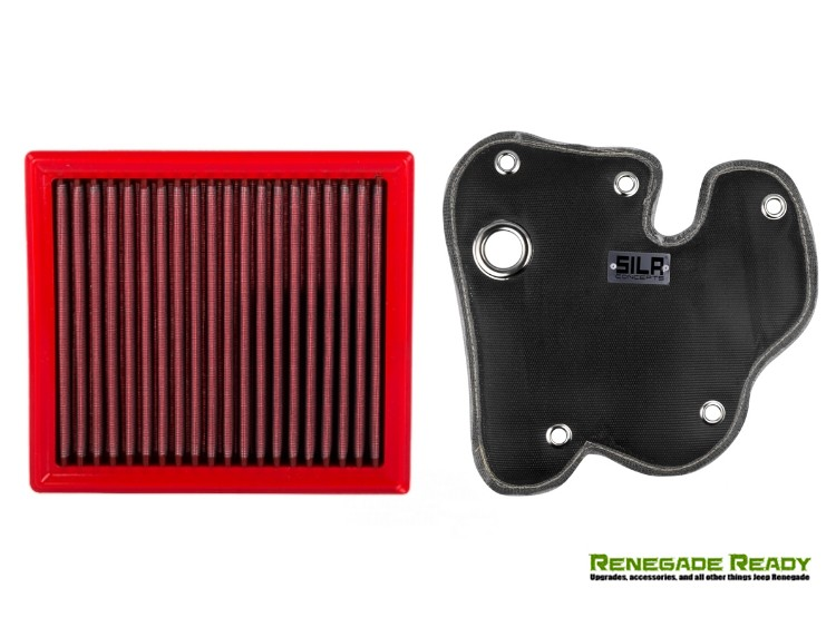 Jeep Renegade Induction Pack - BMC High Performance Filter + SILA Thermal Blanket