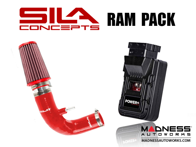 FIAT 500 Ram Pack - SILA Concepts - 1.4L Multi Air Turbo - Red - 2015 - on models