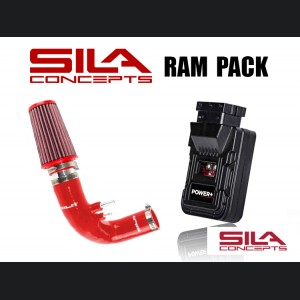 FIAT 500 Ram Pack - SILA Concepts - 1.4L Multi Air Turbo - Red - Pre 2015 - on models