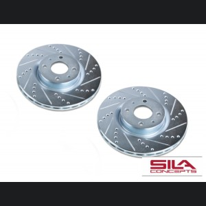 FIAT 500 Brake Rotors by SILA Concepts - Performance - Front Set