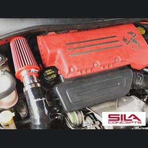 FIAT 500 RAM AIR Intake w/ BMC Filter - 1.4L Multi Air Turbo - Black - 2015 - on model