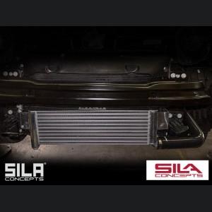 FIAT 500 Front Mount Intercooler - 1.4L Multi Air Turbo - Bar + Plate Design - SILA