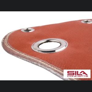 FIAT 500 Thermal Blanket - 1.4L Multi Air Turbo - Red Silicone/ Fiberglass